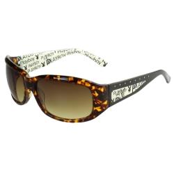 PLAYBOY-時尚太陽眼鏡(琥珀色)PB83011