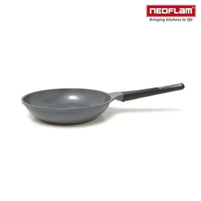 韓國NEOFLAM 大理石系列 24cm陶瓷不沾平底鍋(電磁)