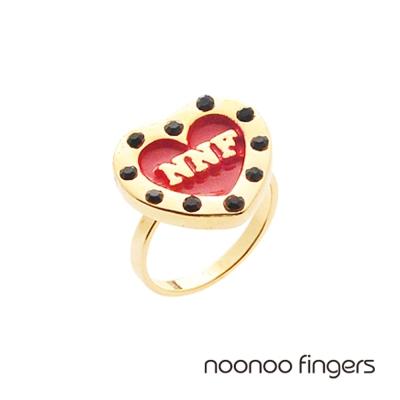 Noonoo Fingers Heart Ring 愛心 戒指