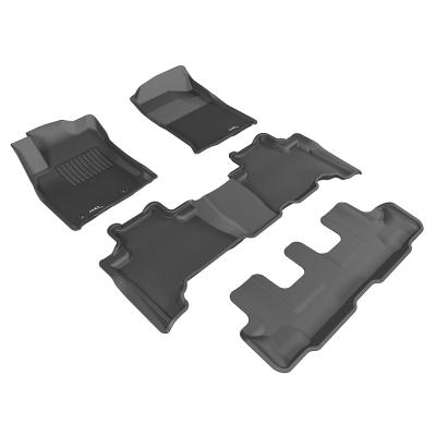 3D 神爪卡固立體踏墊 Toyota Prado 150 2012~2015