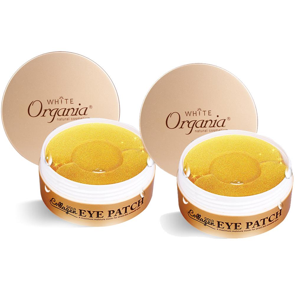 Organia 歐格妮亞 黃金膠原全效眼膜 重點保養膜(60片 30片)x2