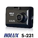 HOLUX 頂級星光夜視 S-231 GPS 行車記錄器-急速配