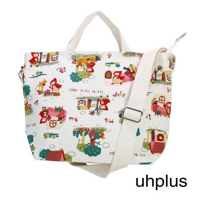 uhplus 三用托特包-童話小紅帽(白)