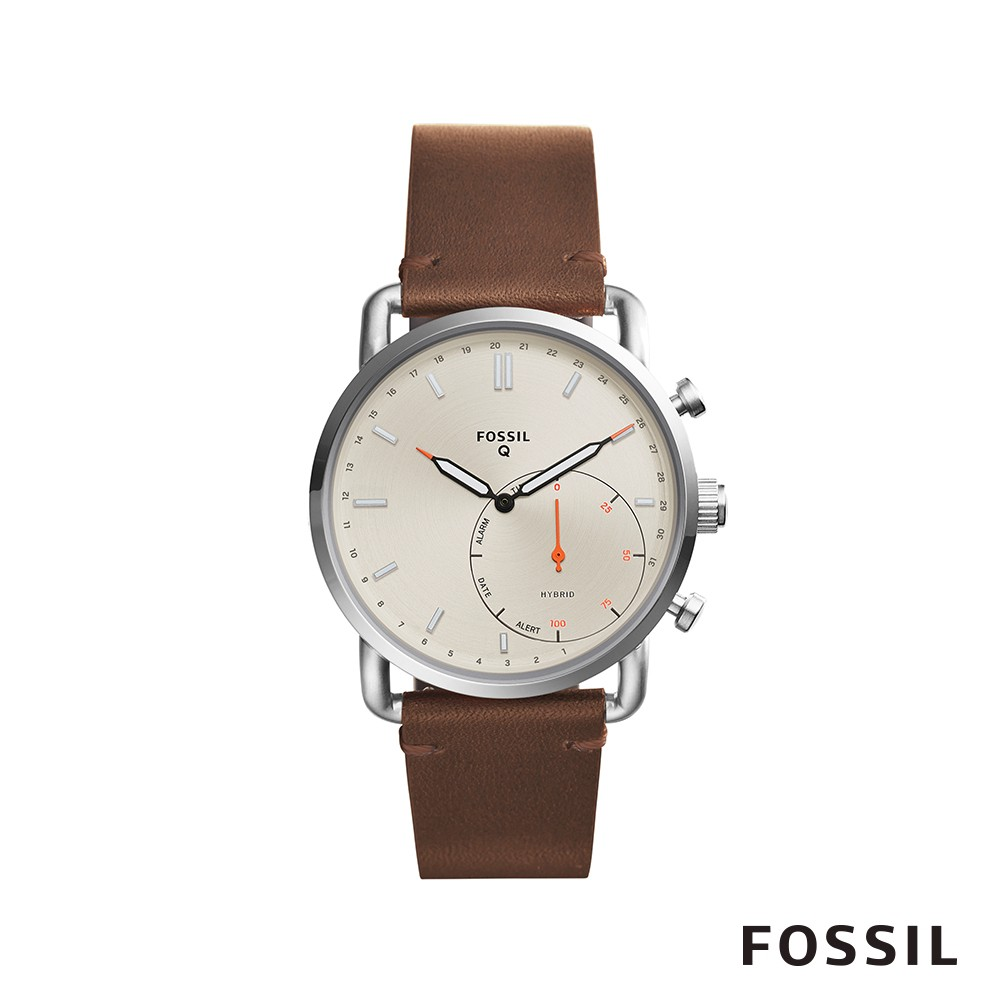 FOSSIL Q COMMUTER 智能錶-米白色