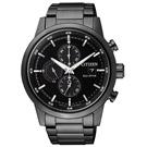 CITIZEN 浪人足跡光動能計時腕錶(CA0615-59E)-鍍黑/43mm