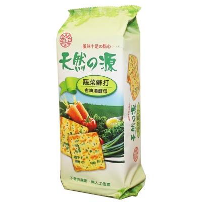 正益 天然之源蔬菜蘇打餅乾(150g)