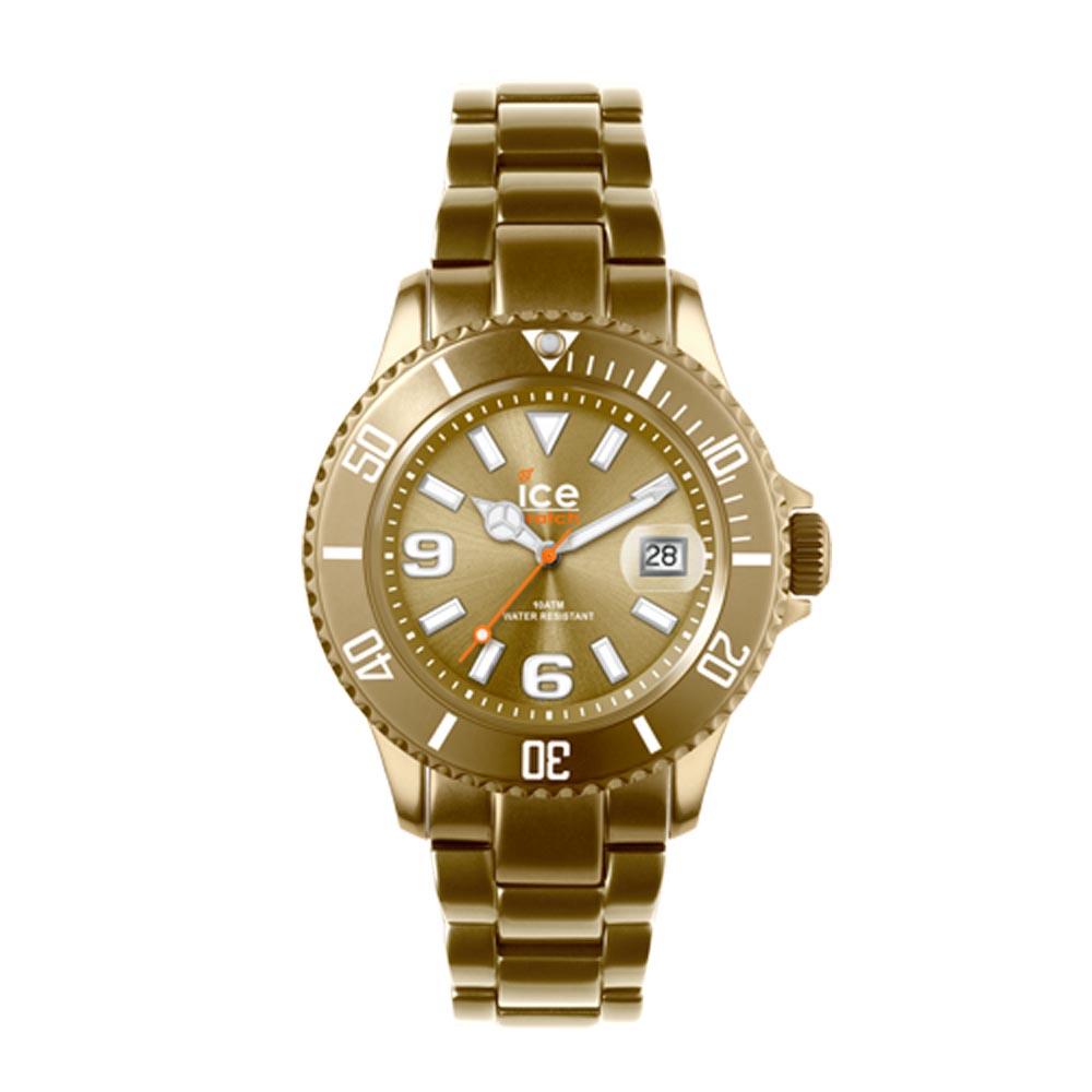 ICE-Watch ALU系列 鋁合金中性素色經典腕錶-金/38mm