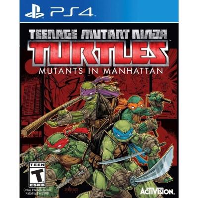 忍者龜:曼哈頓突變體 Ninja Turtles - PS4英文美版