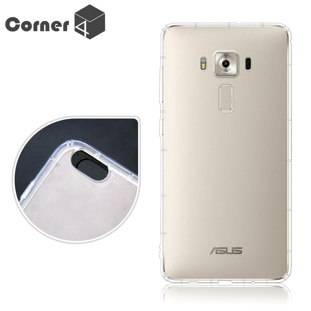 Corner4 ASUS ZenFone 3 Deluxe ZS550KL 透明防摔手機空