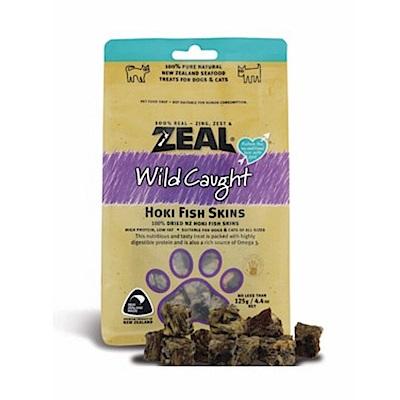岦歐ZEAL 紐西蘭天然寵物食品《福氣魚皮》125g