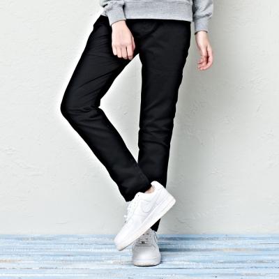 微寬鬆工作褲-3色-CACO