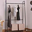 日本直人木業-簡單生活 Space實用衣架--DIY(89x35x150cm)