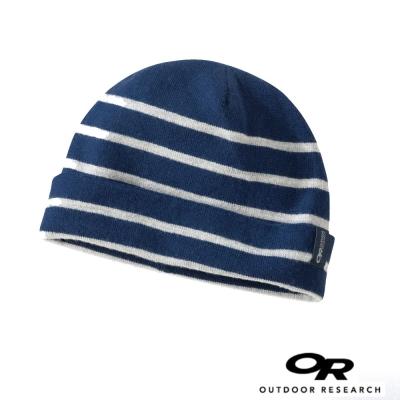 【Outdoor Research】SWAIN 美麗諾羊毛 雙面保暖透氣帽_夜藍