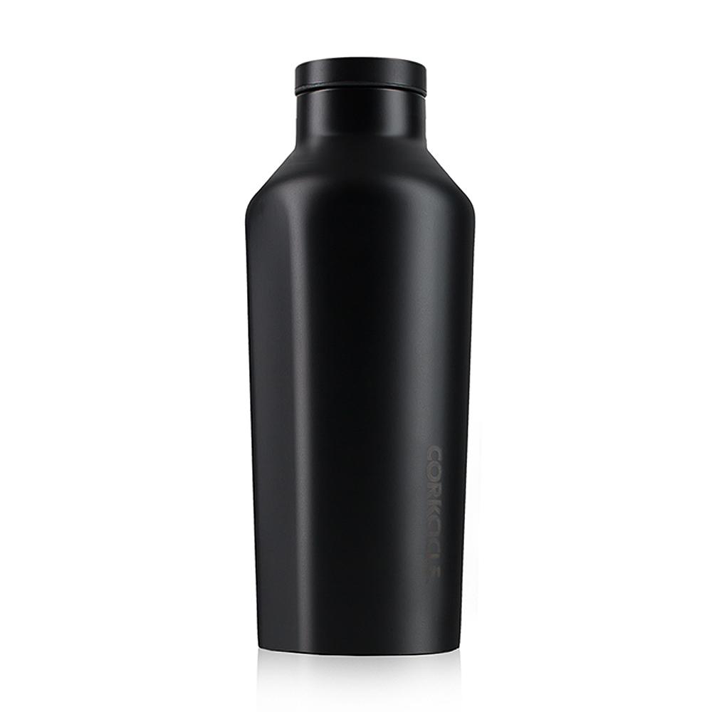 CORKCICLE 酷仕客Dipped系列三層不鏽鋼易口保溫瓶270ml(隕石黑)