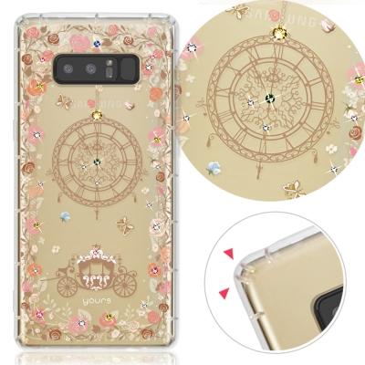 YOURS 三星 Galaxy Note8 奧地利彩鑽防摔手機殼-布拉格