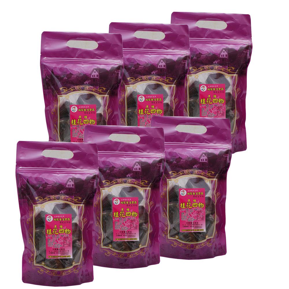 向家養生食品 黑糖桂花四物飲 500g/包 6包入