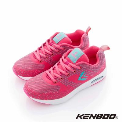 【KENBOO】 流星雨 氣墊大底透氣運動鞋-粉