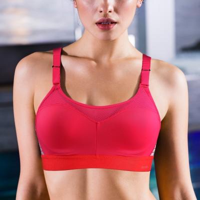 運動內衣 黛安芬-Triaction Cardio高效動能B-C罩杯(溫柔桃紅)