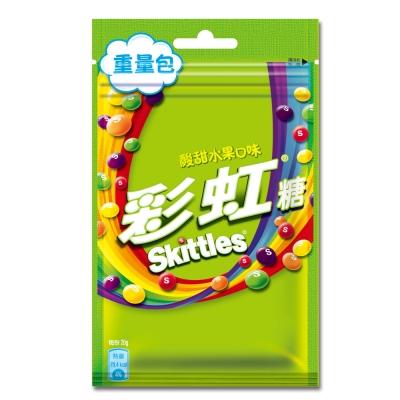 Skittles彩虹糖 酸甜水果口味(80g)