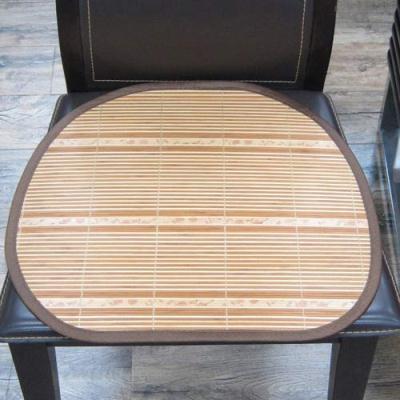 范登伯格 - 仲夏頌 天然竹子餐椅墊-香緋 (40x43cm 六入一組)