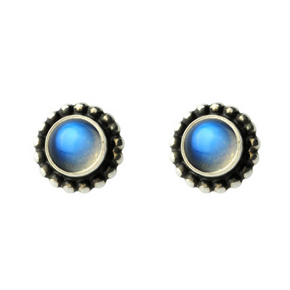 GEORG JENSEN # 9 Moonlight 月光石針式耳環