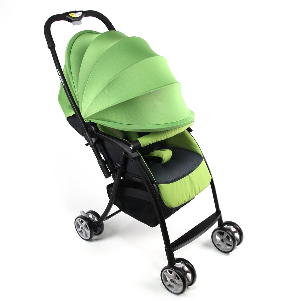 Babybabe 超輕量雙向秒收車-蘋果綠