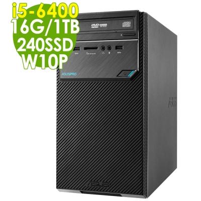 ASUS D320MT i5-6400/16G/1T/240SSD/W10P