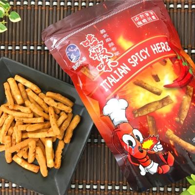 星夜小島 嗑蝦味鮮蝦棒-義式麻辣香草(80g)