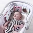 嬰兒床布書手推車雙面彩色撕不破床圍