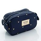 VOVAROVA空氣包-裝不滿化妝包-心空閃耀(藍)