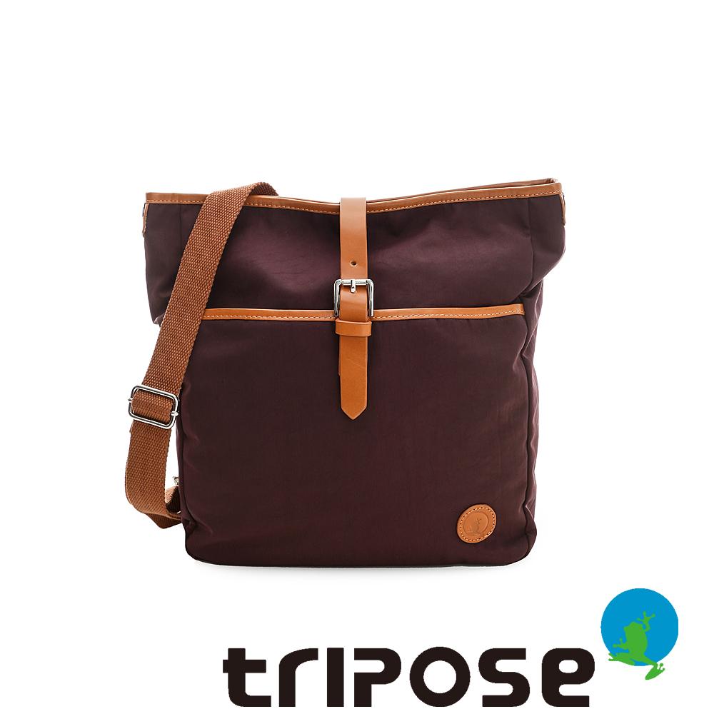 tripose  防潑水帆布斜背後背包