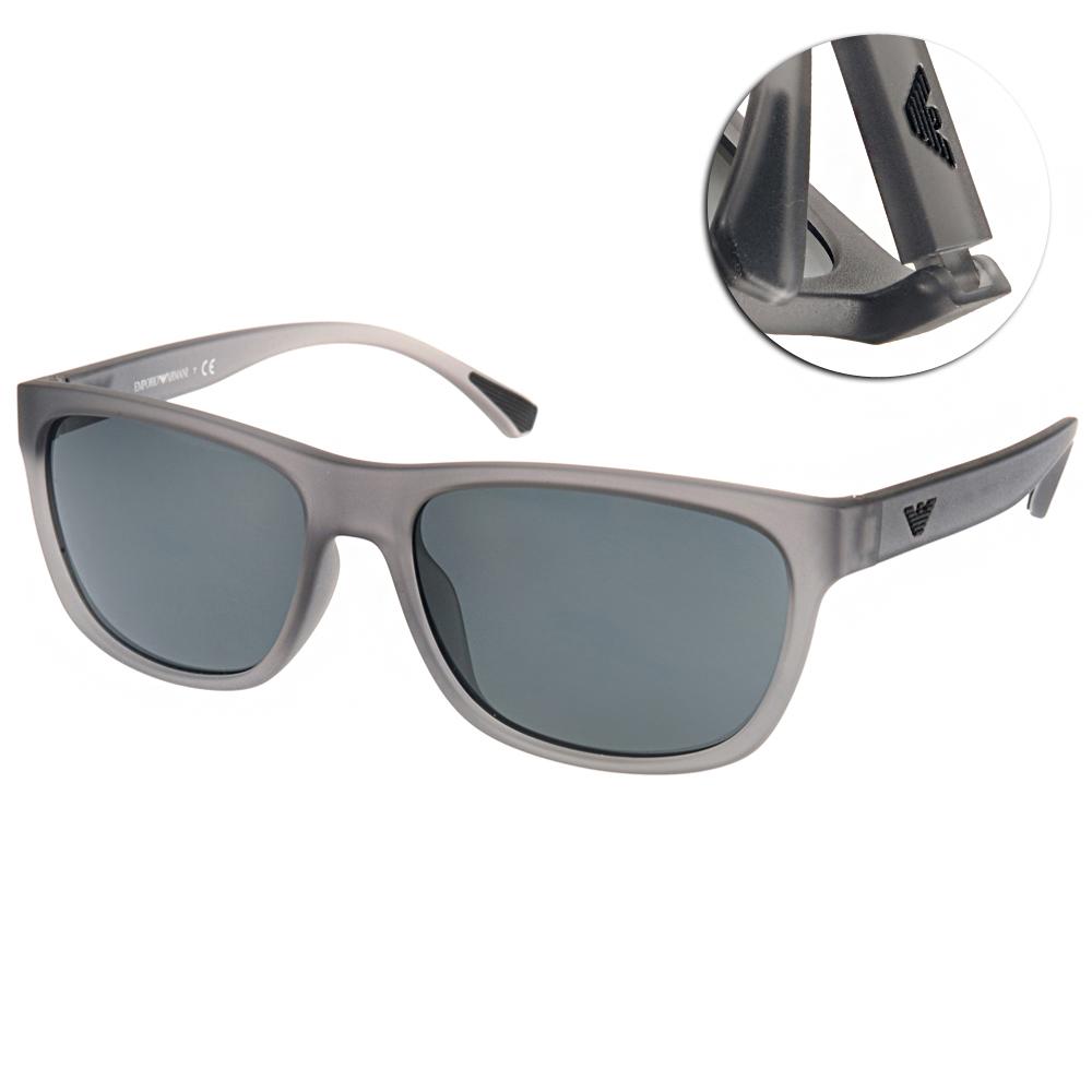 EMPORIO ARMANI太陽眼鏡 義式經典/灰#EA4081F 553287