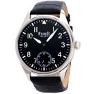 FIBER 法柏領航者手上鍊機械精裝腕錶-黑/42mm