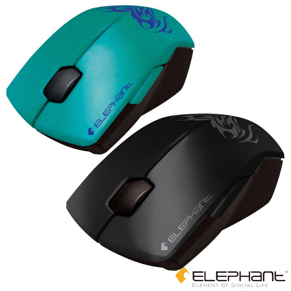 ELEPHANT GR夜鷹-超靜音按鍵藍光雷射滑鼠(WEM-1018)