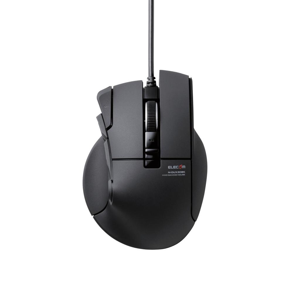 ELECOM DUX 電競滑鼠10按鍵