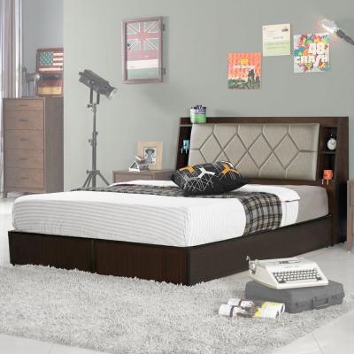 Homelike 艾倫5尺床台組(含床頭箱)-雙人5尺