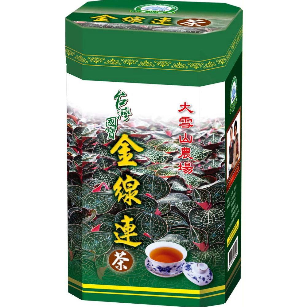 大雪山農場 金線蓮茶(30包x3瓶)
