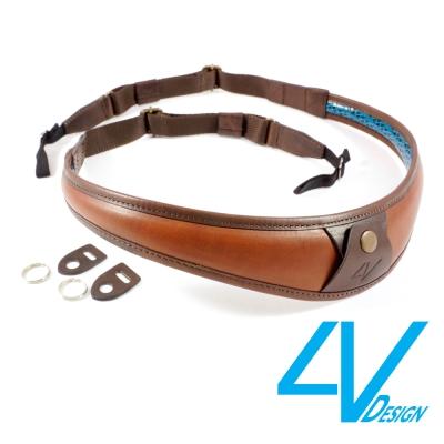 4V ALA TOP系列相機背帶 LU-VV2324-棕/棕色(L)