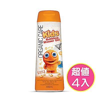 (即期品)澳洲Natures Organics 植粹兒童泡泡洗髮沐浴露-橙400mlx4入
