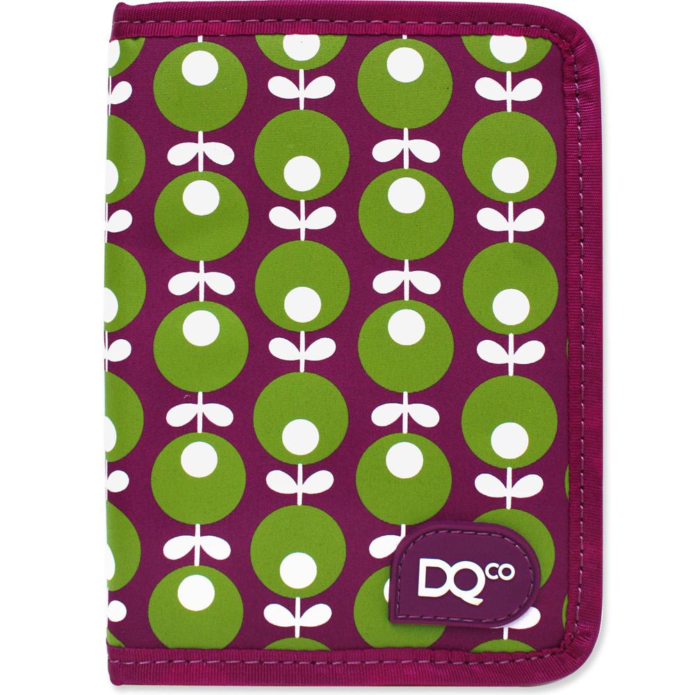 DQ Zip 拉鍊證件護照夾(紫牽牛)