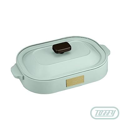 日本Toffy 經典電燒烤盤K-HP1 馬卡龍綠 (公司貨)