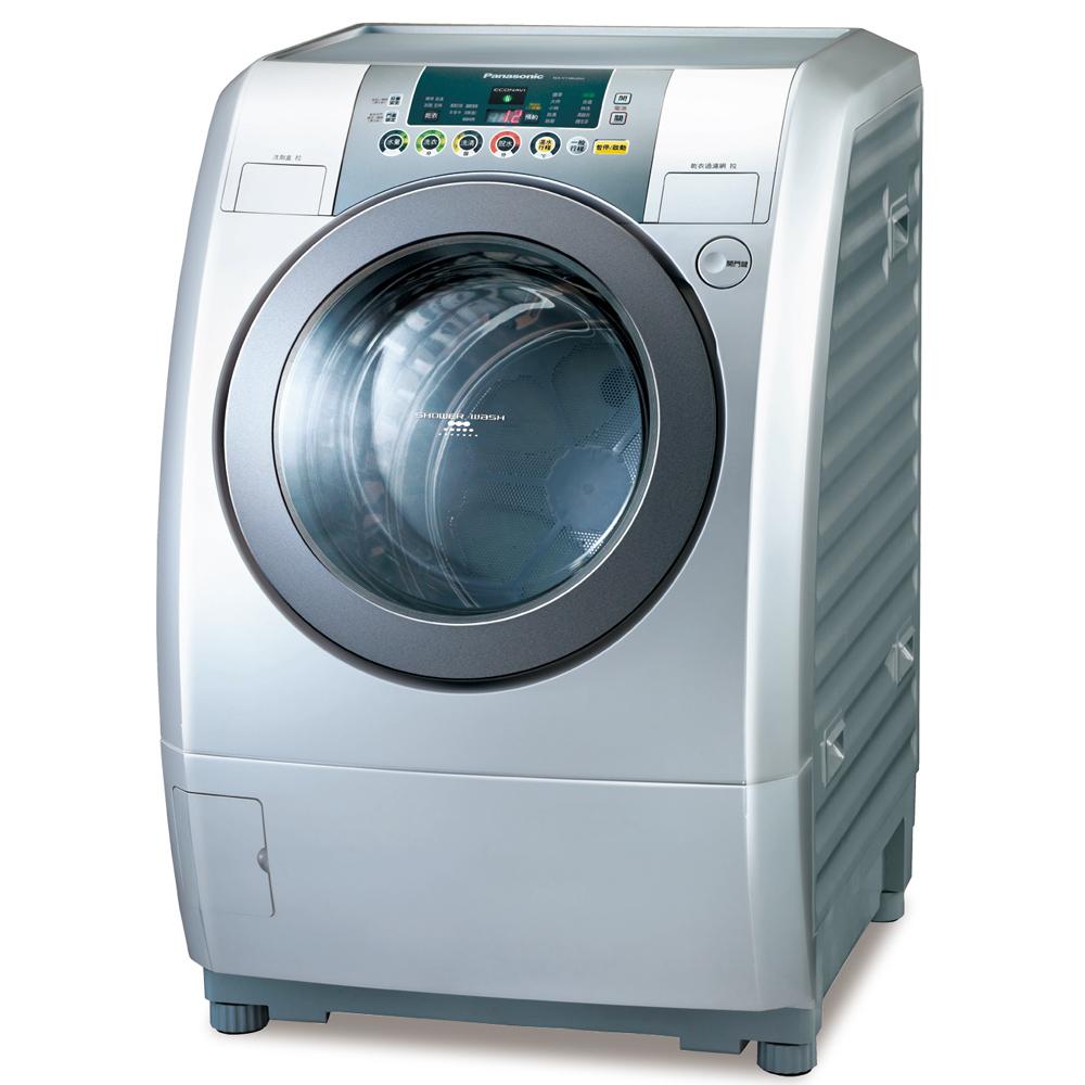Panasonic國際牌14kg變頻滾筒式洗衣烘衣機NA-V158UDH-L