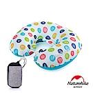 Naturehike TPU超輕量 護頸U型充氣枕 繽紛系列 新氣嘴 彩色波點