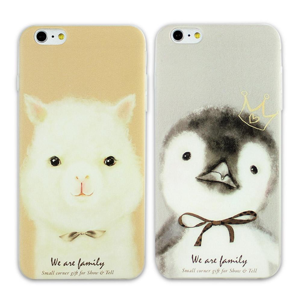 iStyle iPhone 6 plus / 6S plus 毛絨寵物手機殼