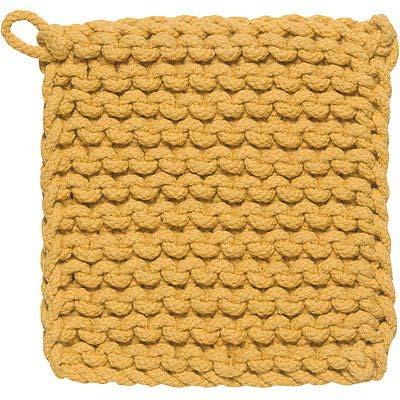 DANICA 鉤針編織隔熱墊(黃)