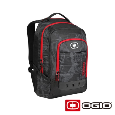 OGIO OPERATIVE 17 吋 行動電腦後背包-暗紋