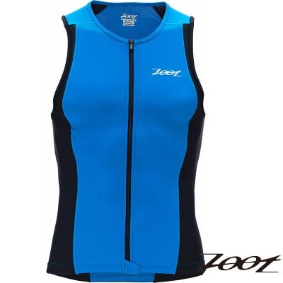 2014 ZOOT 專業級全拉式鐵人上衣(男-黑寶藍) Z1406021 三鐵