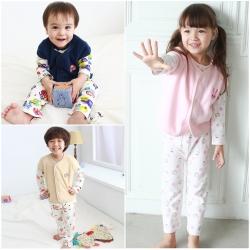 baby童衣 兒童居家套裝  休閒套裝3件套50418