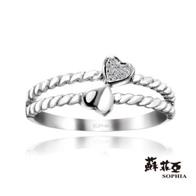 蘇菲亞SOPHIA - Heart by Heart 鑽石尾戒