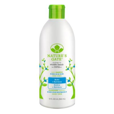 Nature s Gate 經典無基改雙倍維生素H青竹植萃健髮洗髮精532ml